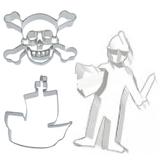 Ausstecher mit Ritter und Piraten Motiven