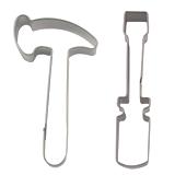 Ausstecher mit Werkzeug-Motiven