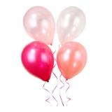 Luftballons und große Partyballons