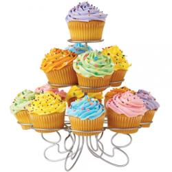 Tischdekoration Cupcakeständer