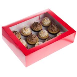 Verpackung Cupcake-Schachtel