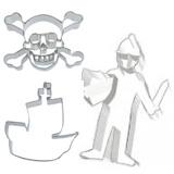 Ausstechformen Ritter Piraten