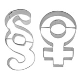 Ausstechformen Symbole